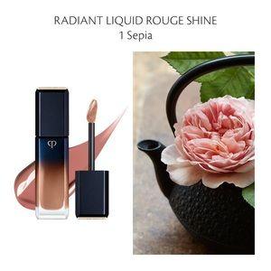 Cle de peau RADIANT LIQUID ROUGE SHINE 01 Sepia